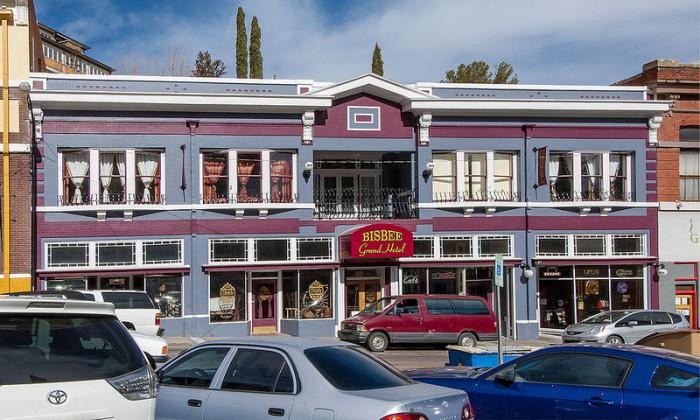 Bisbee Grand Hotel Tjfrom Az Flickr