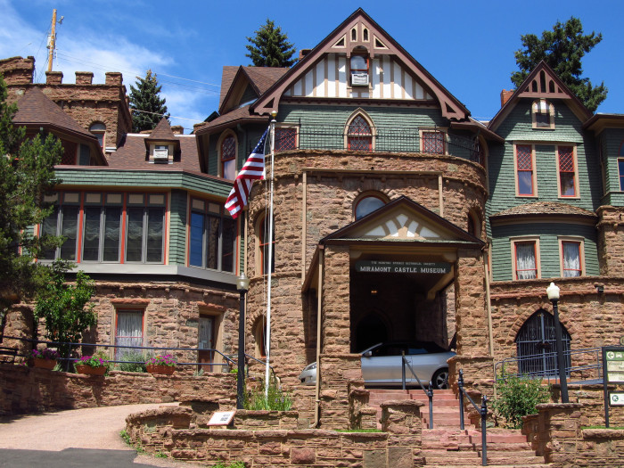 6.) Miramont Castle (Manitou Springs)