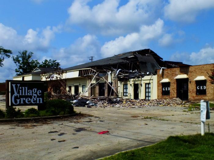 8. The 2013 Tornadoes in Hattiesburg