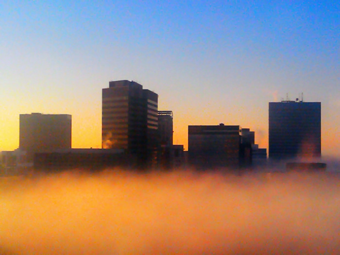 8. A majestic floating city or The Fog all over again?