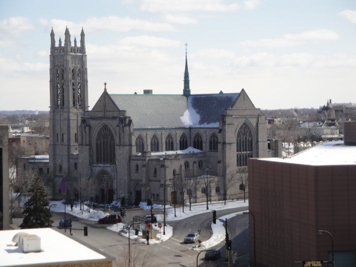 14. Central Lutheran Church in Minneapolis is spectacular in any season.