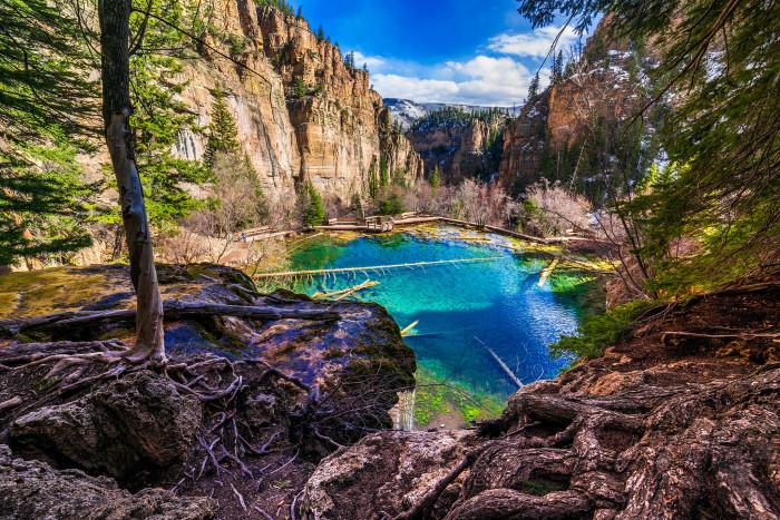 8.) Heaven on earth (Hanging Lake)