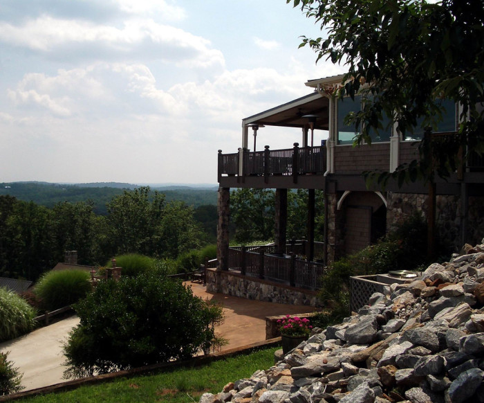 7) Wolf Mountain Winery- Dahlonega, GA