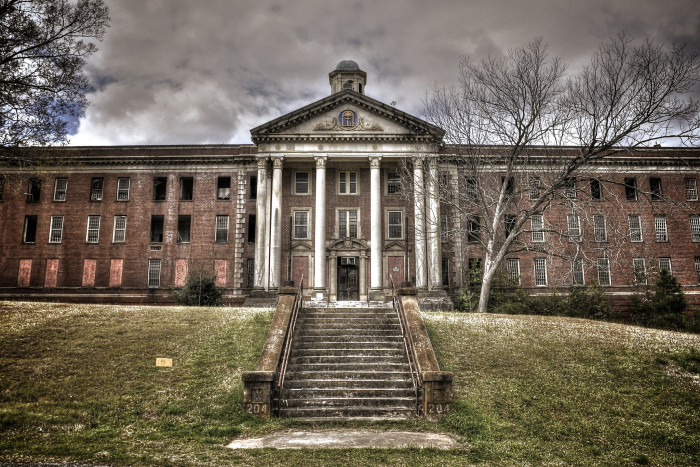 Central State Hospital opened in 1842 as Georgia's first psychotic hospital.