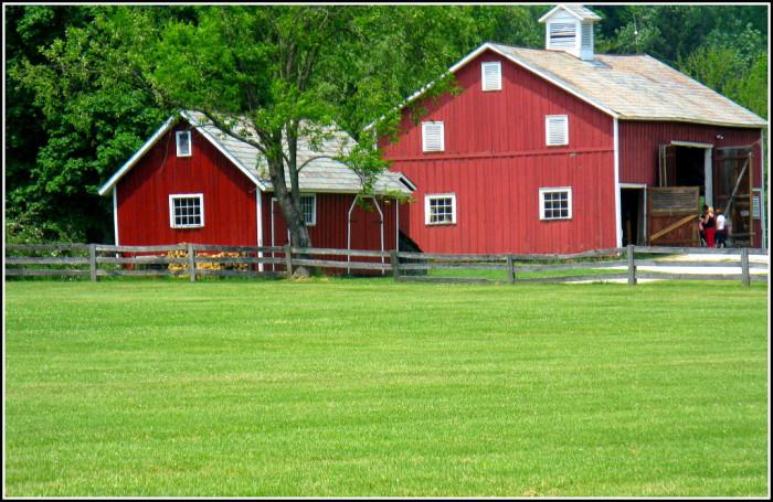 13) Hale Farm and Village (Bath Township)