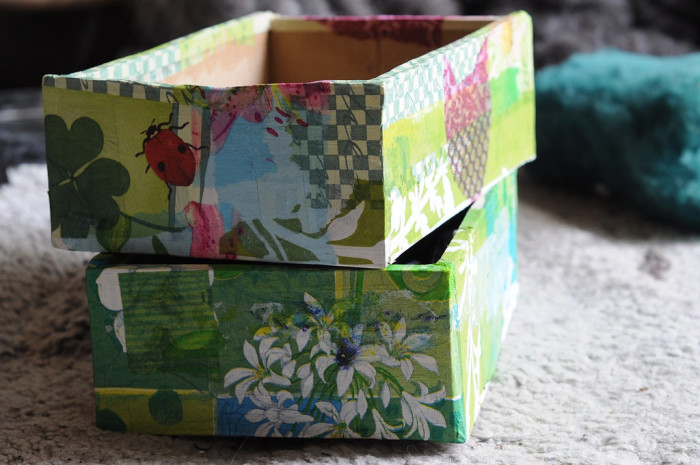 2. Cardboard pencil boxes. I took so long trying to find just the right one and by December it would be falling apart...