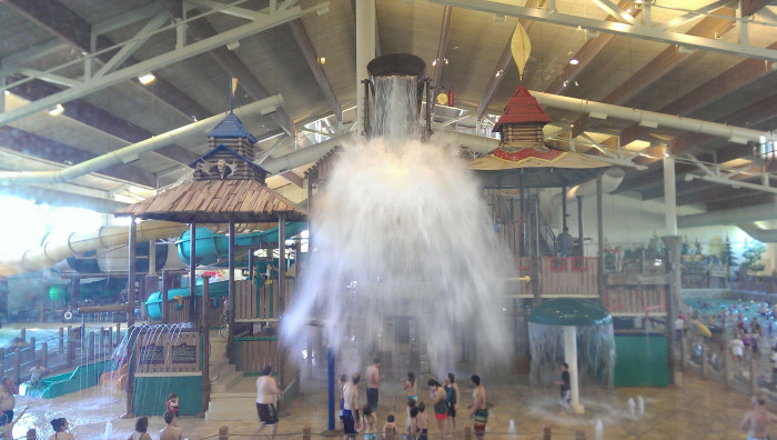 10) If you really want to beat the heat, go to an indoor waterpark like the one at Great Wolf Lodge in Grapevine!