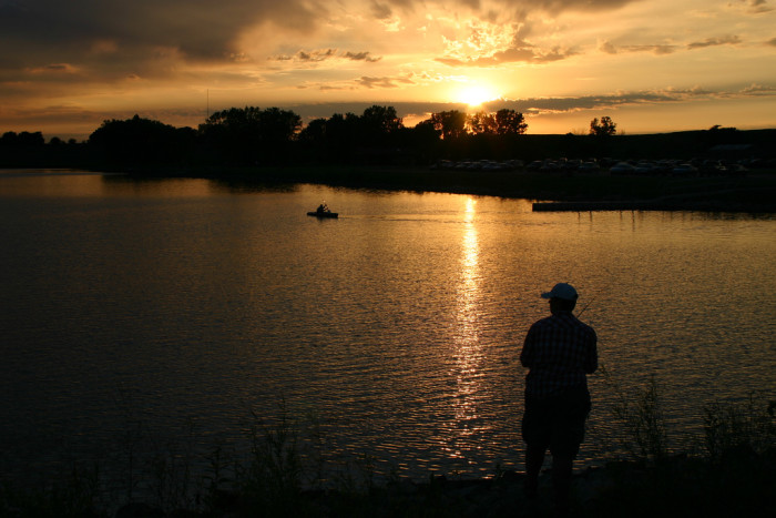 7. Ada Hayden Lake, Ames