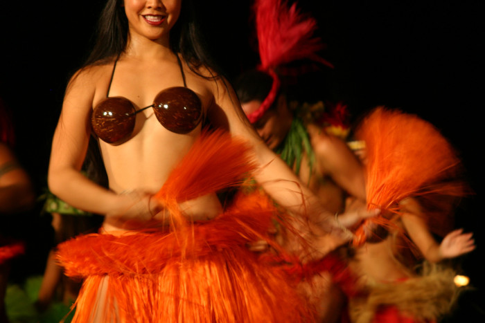 9) And everyone can all dance a perfect hula.