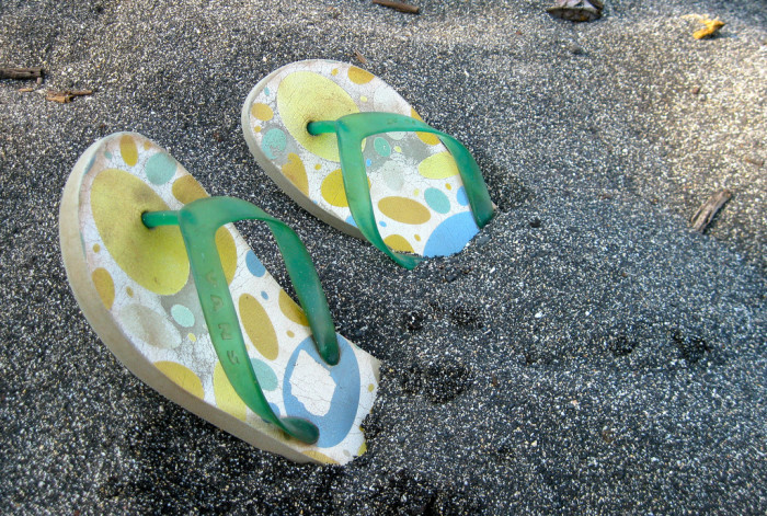 9) We don't call them flip-flops in Hawaii. They are either slippers, or even better, slippahs.