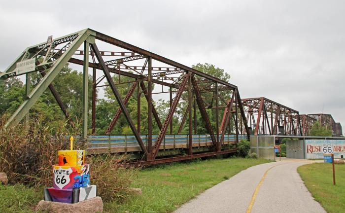 9. Chain of Rocks Bridge, Missouri Side, St. Louis
