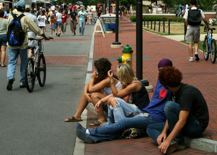 9. If you are going to sit on any curb in St. Louis...