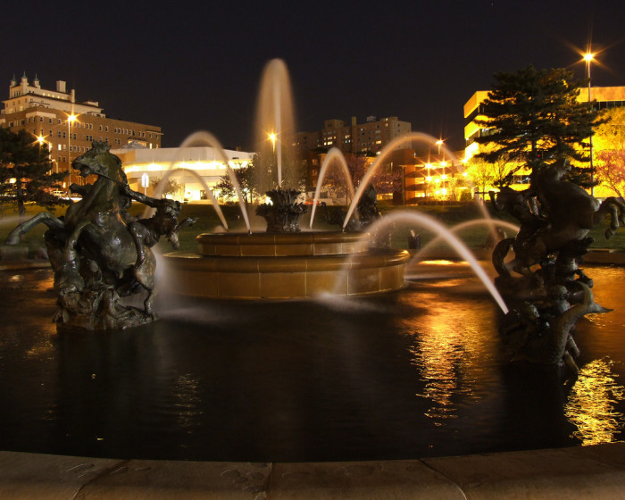 9.  Kansas City has more fountains than any city other than Rome, Italy.