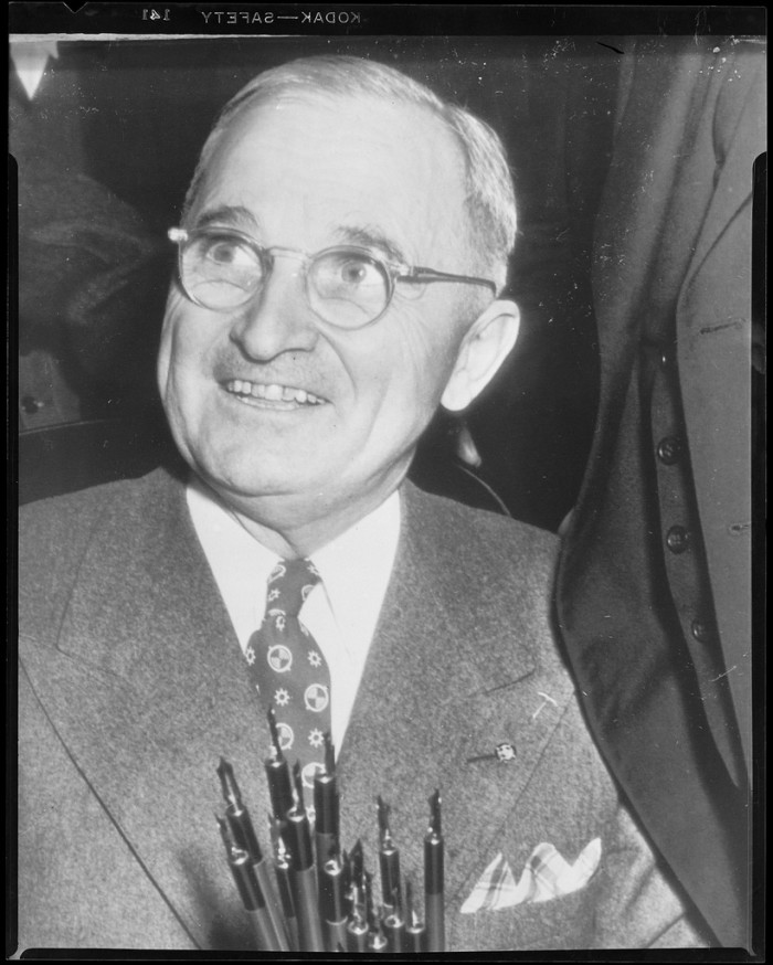 9.	Harry S. Truman, U.S. President, Independence