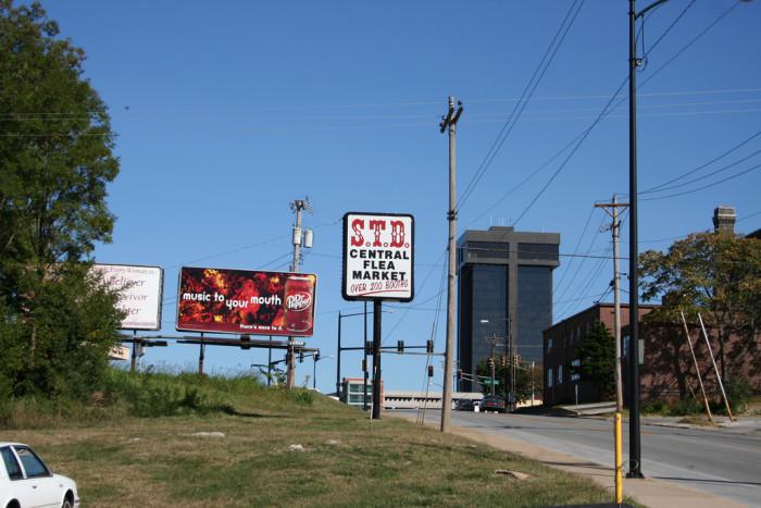 9. STD Central Flea Market, Springfield