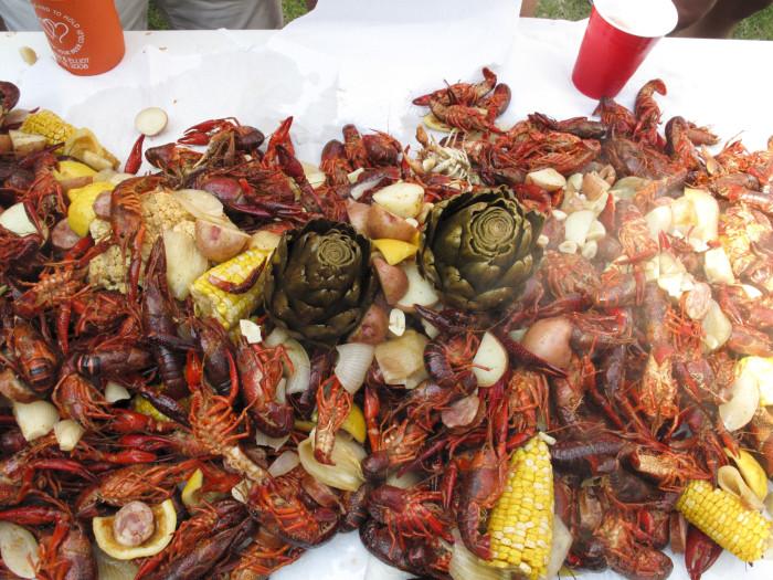 9. Crawfish Boils