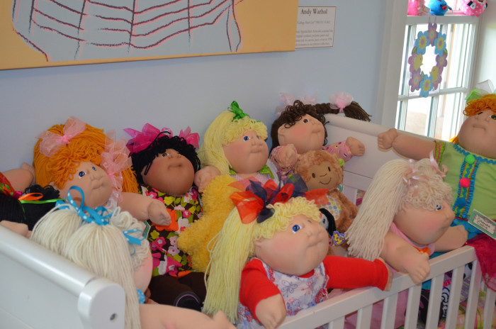 2. Some of the most sought-after toys were Cabbage Patch Kids...
