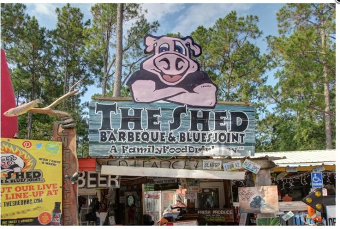 9. The Shed Barbeque and Blues Joint, Ocean Springs