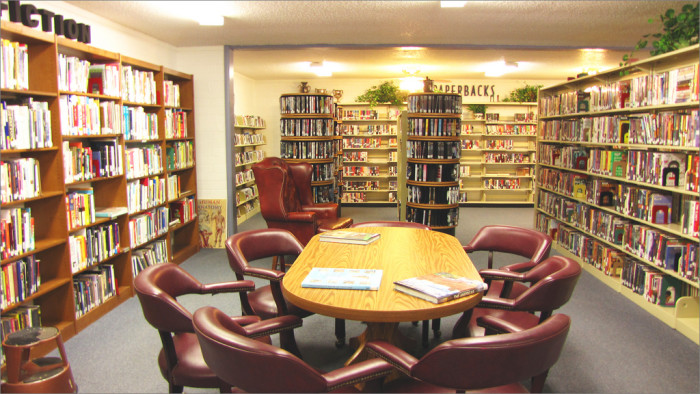 14. Visit your local library