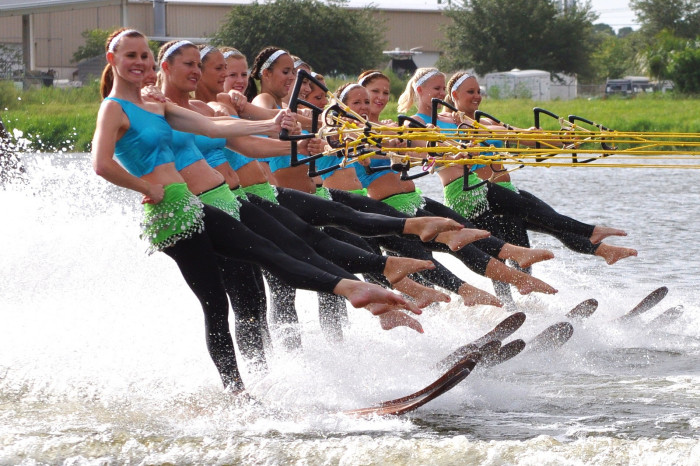 5. You excel at water sports.