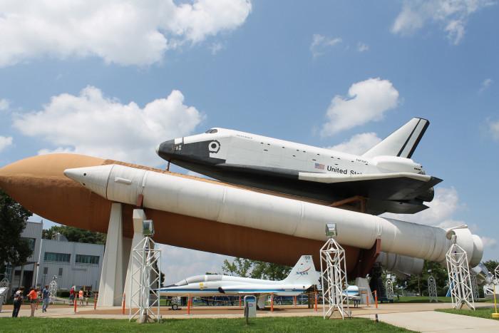 2. U.S. Space & Rocket Center