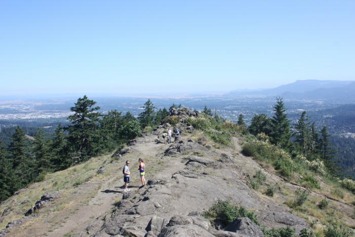 1) Climb Spencer Butte, Eugene