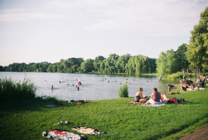 7. Lake Nokomis is another Minneapolis crowd-pleaser that offers great swimming and plentiful views.