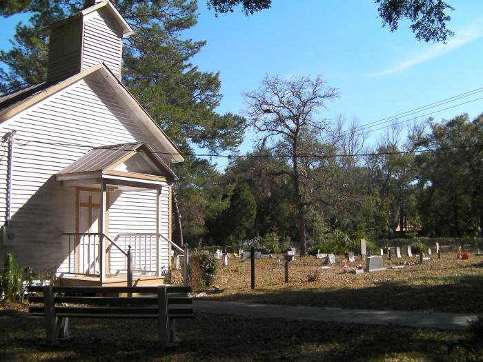 9. Moultrie Church and Wildwood Cemetery