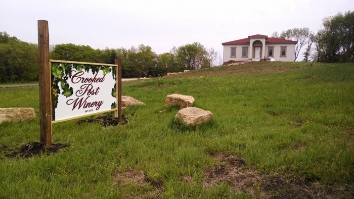 6.) Crooked Post Vineyard & Winery (Ozawkie)