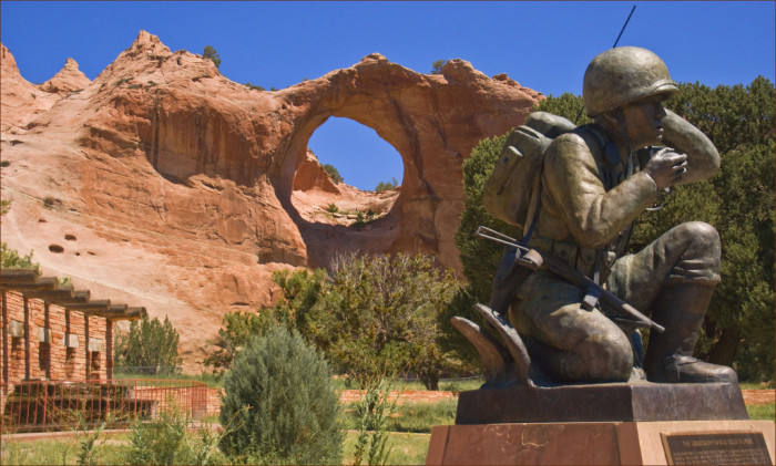 7. Navajo Nation Veterans Memorial, Window Rock