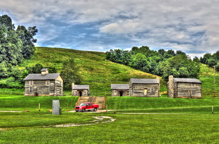 1) Bob Evans Farm (Gallia County)