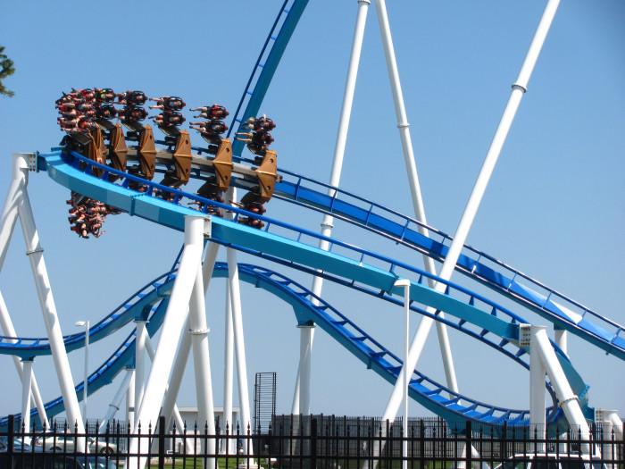 10) Cedar Point, Sandusky, Ohio
