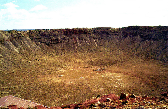 2. We have one of the best preserved meteor craters in the world.
