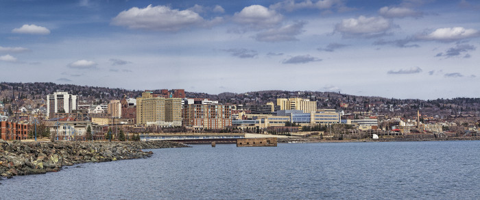 Now - Duluth is modern and colorful in this new photo.
