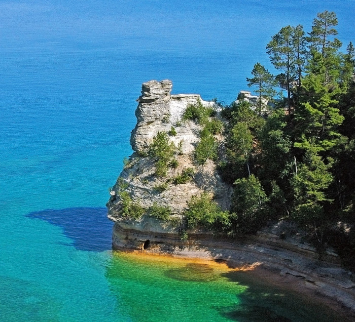 13) Miners Castle, Pictured Rocks National Lakeshore