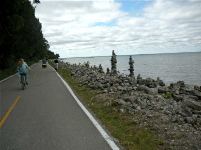 14) Bike the entirety of Mackinac Island