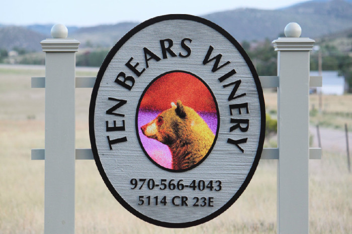 5.) Ten Bears Winery (Laporte)