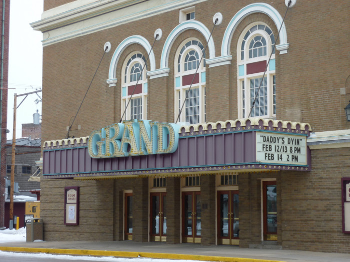 Grand Foyer And Rear Of Auditorium Of Allen Place In Montreal : Here are beautiful and historic theaters in iowa