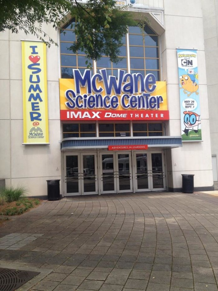 3. McWane Science Center: IMAX Dome Theater