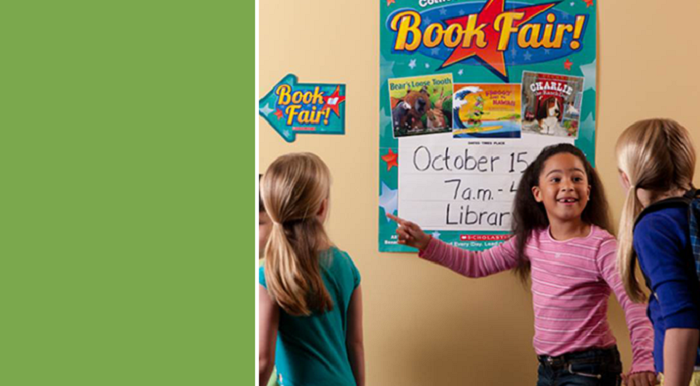 7. You always got SUPER EXCITED whenever you heard the book fair was coming to your school.