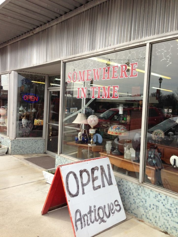 2. Somewhere In Time Antiques & Collectibles - Attalla, AL