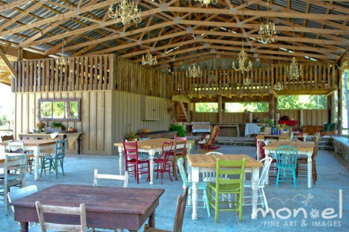 3. Sweet Seasons Farm Event Barn - Valley Head, AL