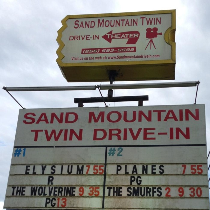 6. Sand Mountain Twin Drive-In - Boaz, AL