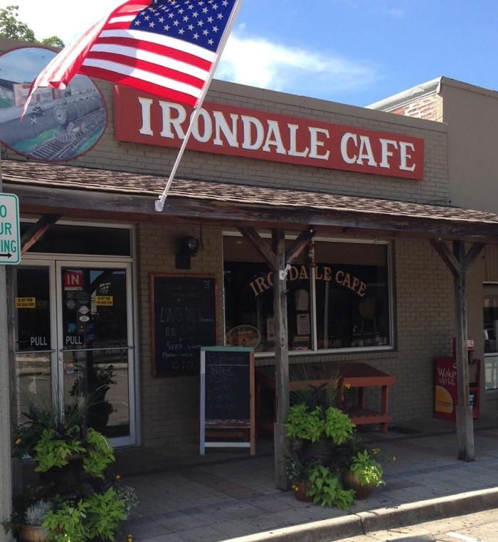 5. Irondale Cafe - Irondale