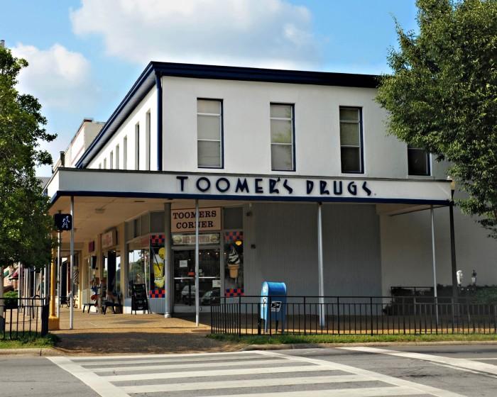 7. Toomer's Drugs - Auburn