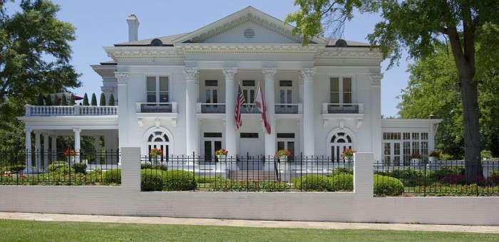 3. Alabama Governor's Mansion - Montgomery, AL