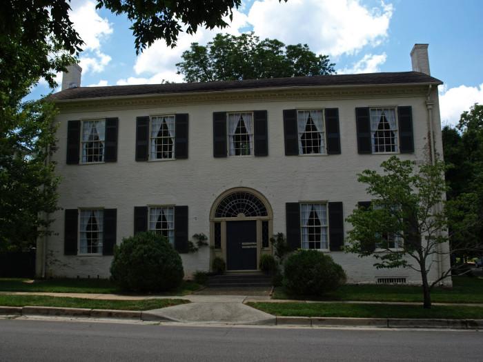 5. The Weeden House - Huntsville, AL