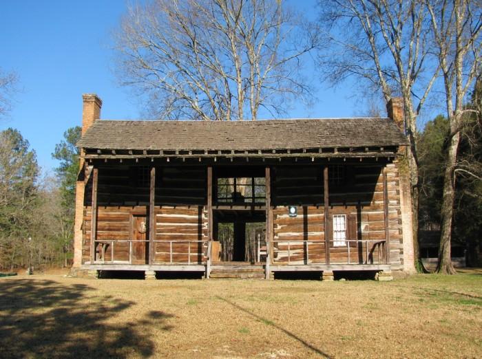 1. Dogtrot House - Ashville, AL