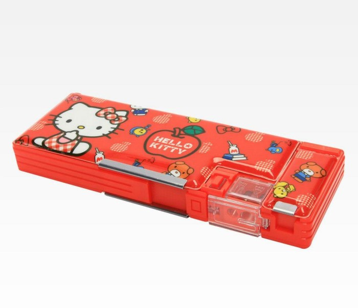 12. Hello Kitty Pencil Case