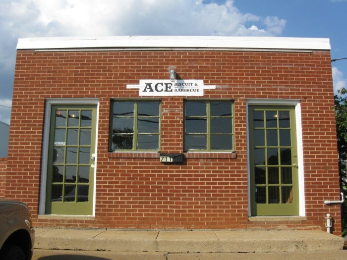 9. Aces Biscuit and Barbecue, Charlottesville